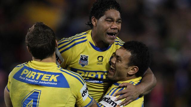 Eels sink Panthers, Cowboys thrash Raiders