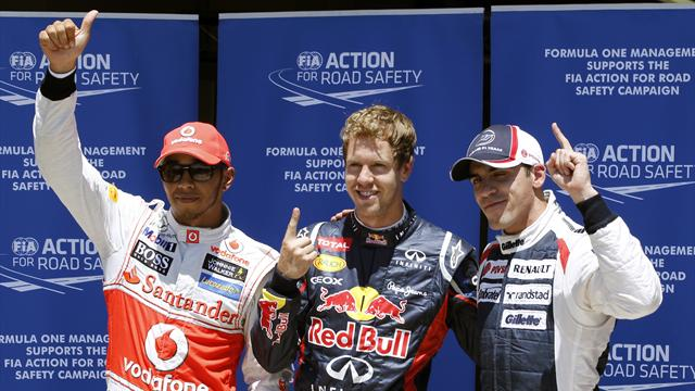 Vettel magic seals Valencia pole