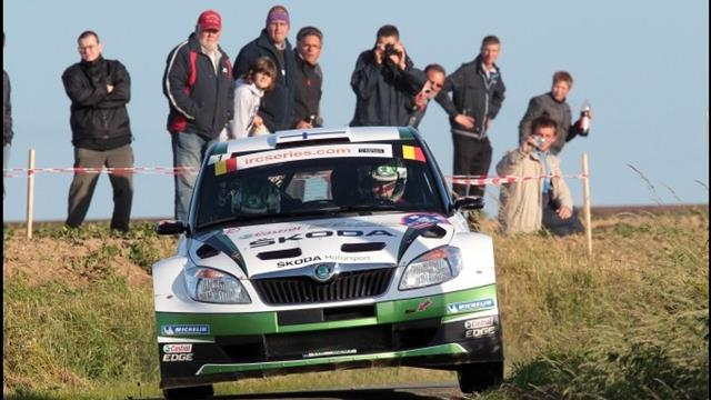 Hanninen wins Geko Ypres Rally