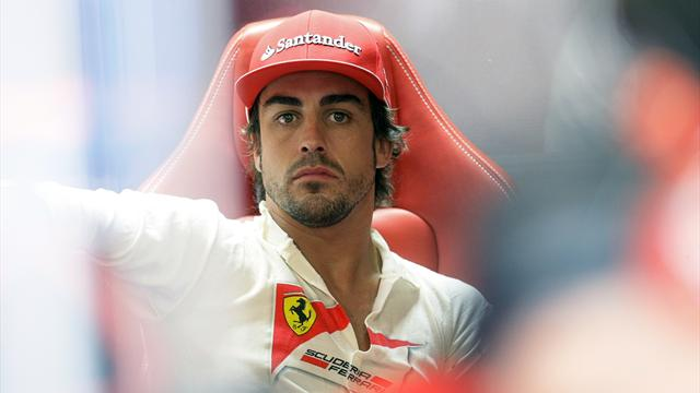Drivers: Alonso unhappy - Formula 1