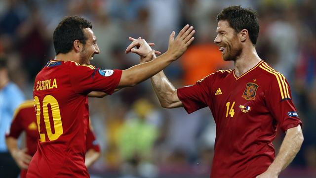 Alonso inspires Spain - Football - Euro 2012
