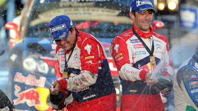 Loeb wraps up win - WRC