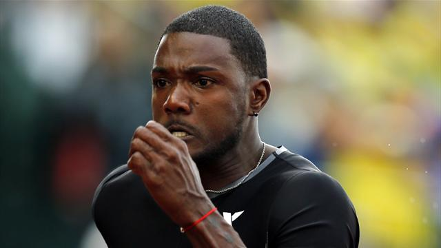 Gatlin, Gay secure berth - Olympic Games - London 2012