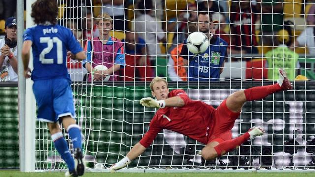 Pirlo pen fazed England - Football - Euro 2012