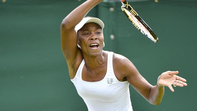 Venus crashes out  - Tennis - Wimbledon