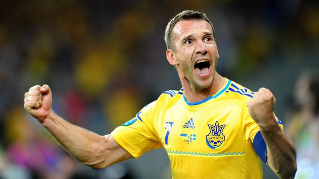 Shevchenko quits football to enter politics