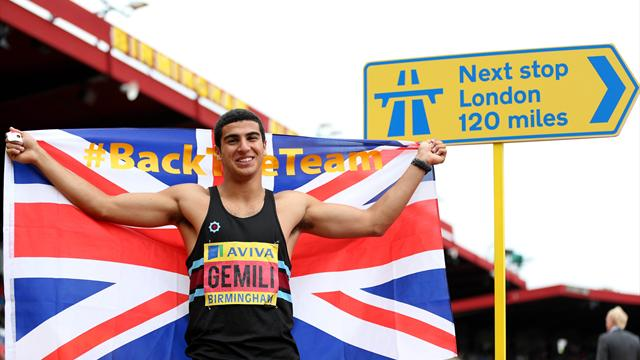 Gemili through - Athletics