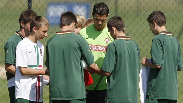 Ronaldo: No advantage - Football - Euro 2012