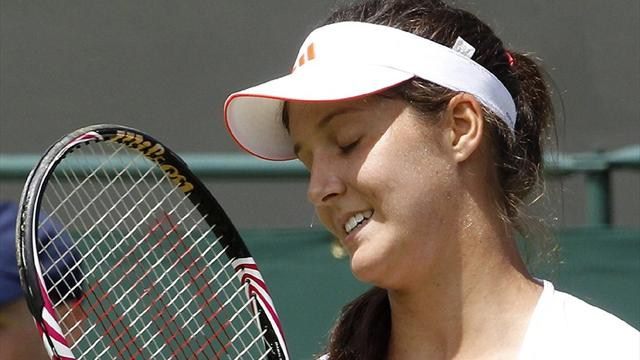 Robson beaten by Schiavone - Tennis - Wimbledon