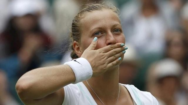 Kvitova survives shaky start