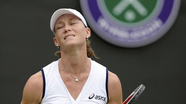Stosur knocked out  - Tennis - Wimbledon