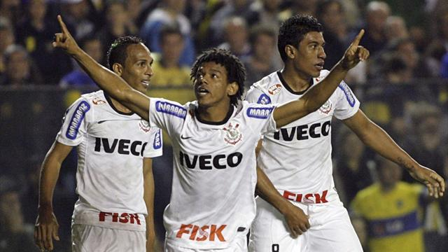 Romarinho gives Corinthians edge over Boca