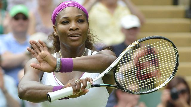 Serena sweeps through - Tennis