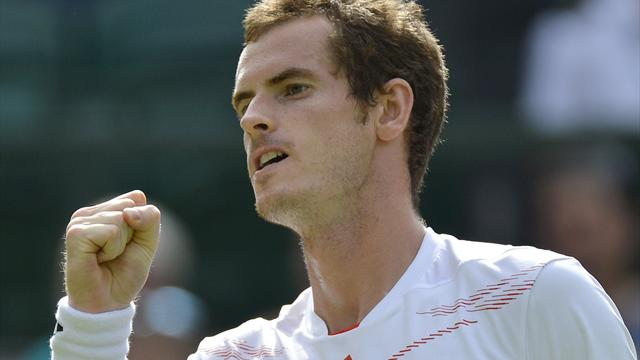 Murray downs Karlovic - Tennis - Wimbledon