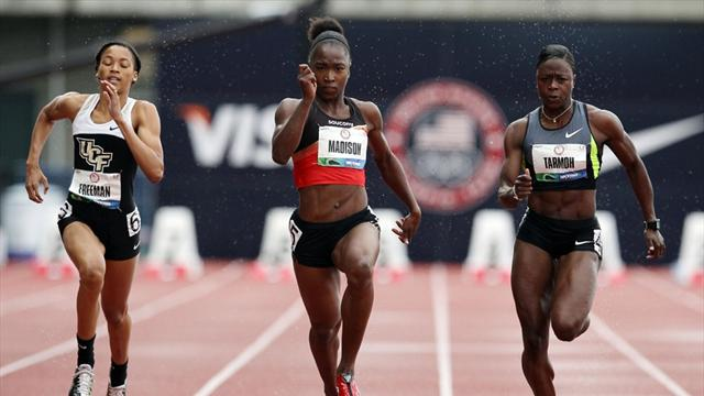 Madison leads at US trials - Athletics