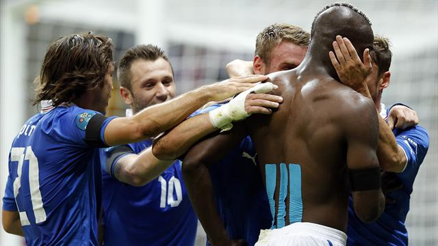 Balotelli back in favour  - Football - Euro 2012