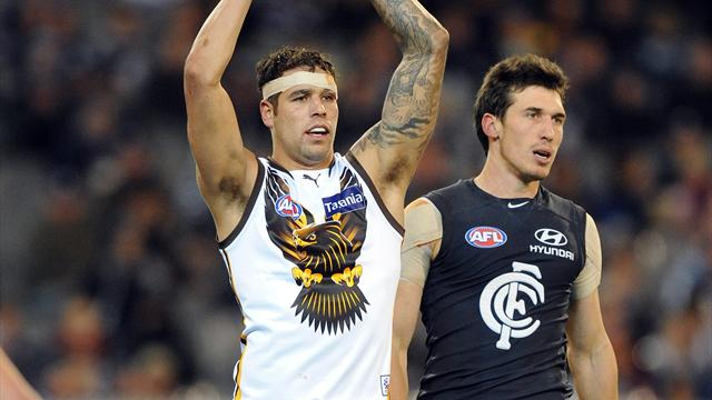 Hawks add to Blues misery - Australian Football