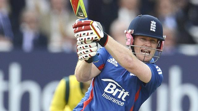 Morgan inspires England to Lord's win