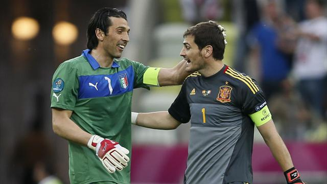Legendary keepers - Football - Euro 2012