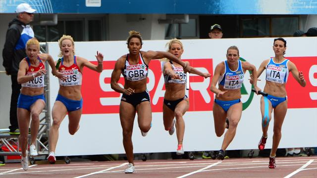 GB relay women not at 2012 - Olympic Games - London 2012