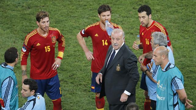 Del Bosque credits youth - Football - Euro 2012