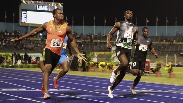 Bolt, Blake set up rematch - Olympic Games - London 2012