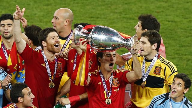 Spain v Italy: Factbox - Football - Euro 2012