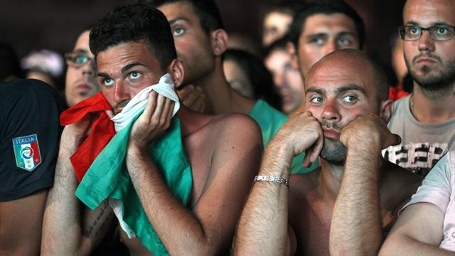 Italian fans left glum - Football - Euro 2012
