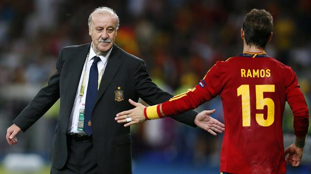 Del Bosque credits players - Football - Euro 2012