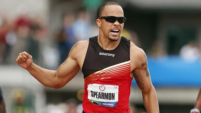 Spearmon eases to win - Athletics