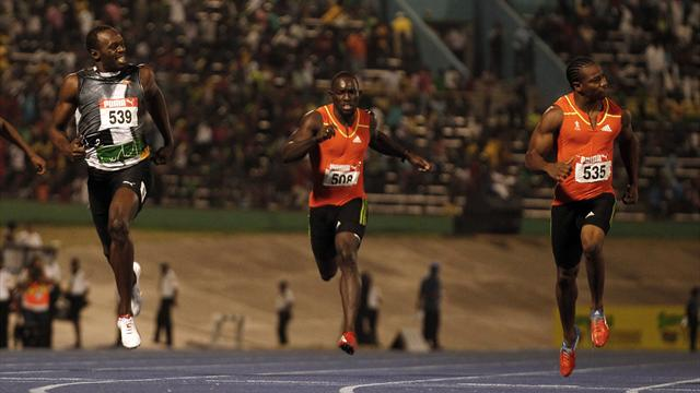 Blake beats Bolt again - Olympic Games - London 2012
