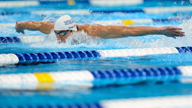 Phelps seals eighth event - Swimming