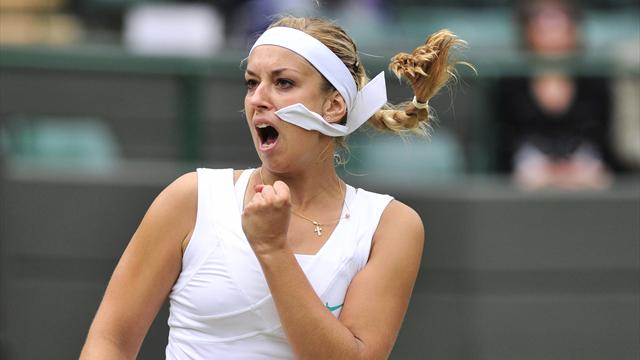 Sharapova stunned by Lisicki at Wimbledon