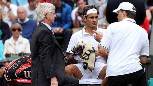 Federer off-colour - Tennis - Wimbledon