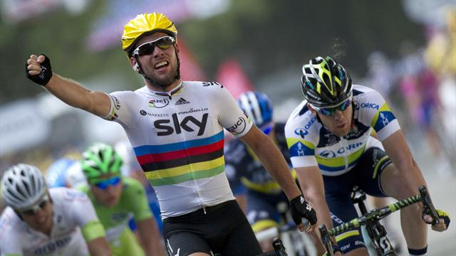 Cavendish solos to win - Cycling - Tour de France