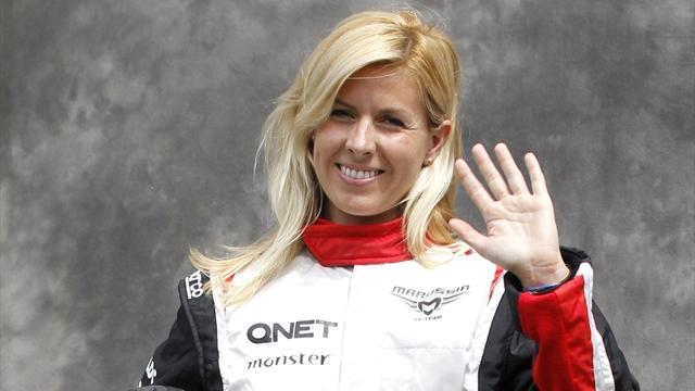 Female F1 driver crashes - Formula 1