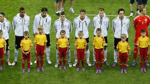 Germany under fire - Football - Euro 2012