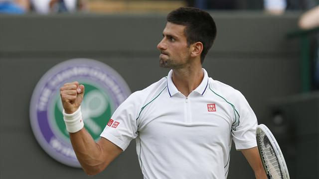 Djokovic thumps Mayer  - Tennis - Wimbledon