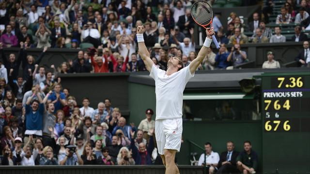 Murray downs Ferrer - Tennis - Wimbledon