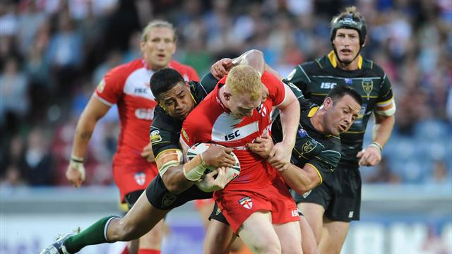 England brushed aside - Rugby League