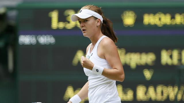 Radwanska reaches Wimbledon final