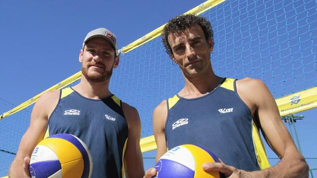 Brazil ace readyfor beach - Beach Volley