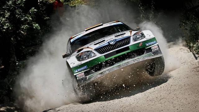 Wiegand leads Rally San Marino