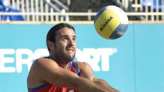 Beach volley duo feel 100% British