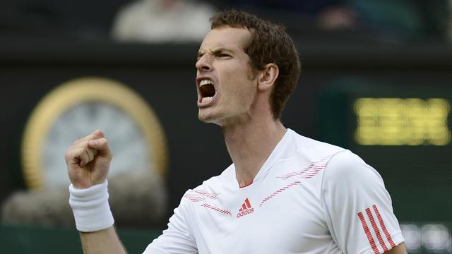 Tearful Murray makes history to reach Wimbledon final