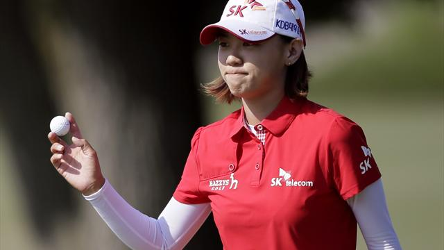 Choi sizzles to take US Women's Open lead