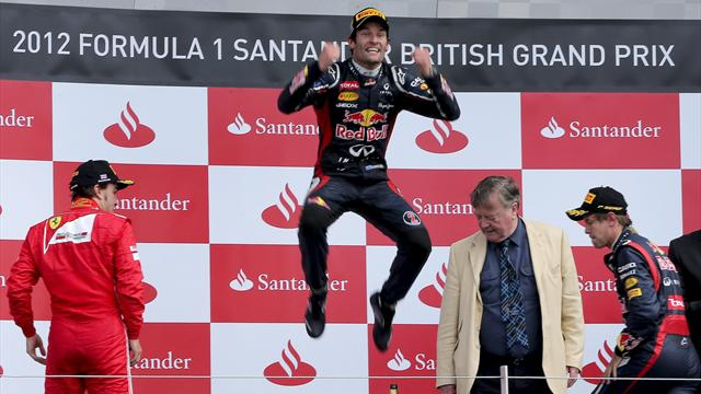 Webber signs extension - Formula 1