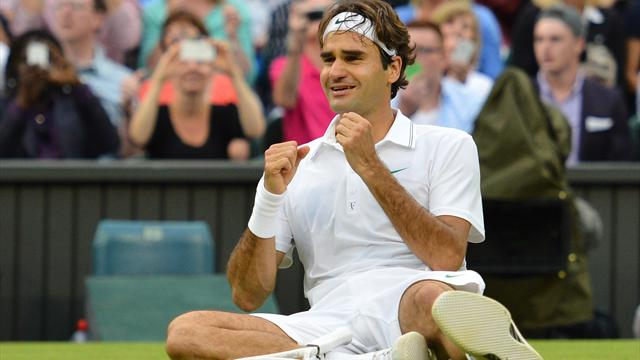 Federer: I never doubted myself