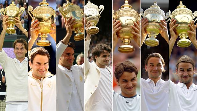 The amazing Roger Federer record book