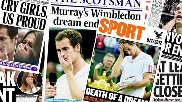 Murray's defeat: The world reacts